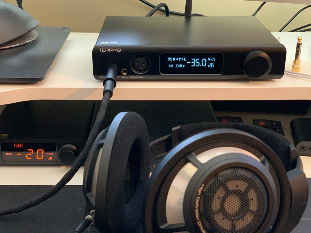 Topping DX7 PRO DAC/Amplificador