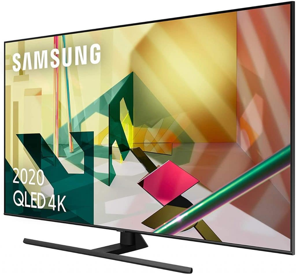 "Samsung QLED 4K 2020 65Q70T - Smart TV de 65"" con Resolución 4K UHD"