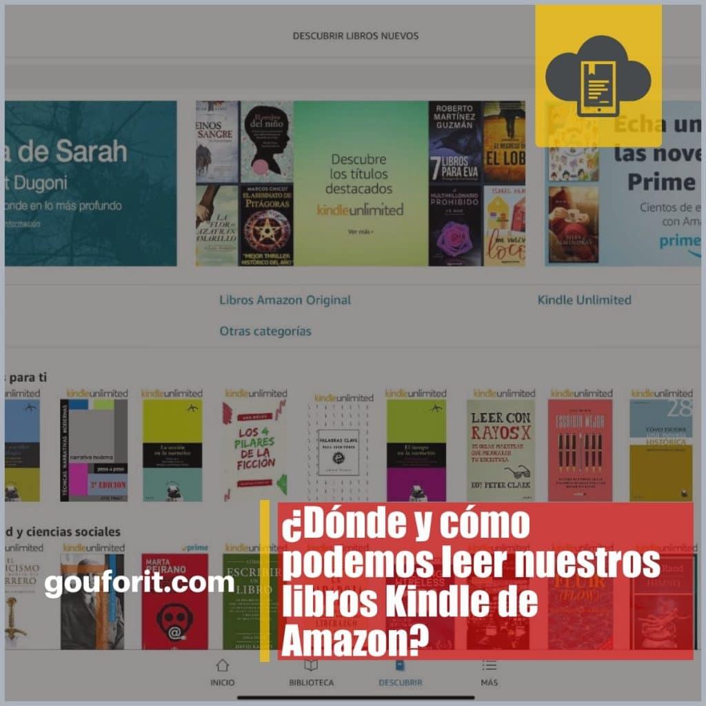 Aplicación Kindle para leer ebooks en iOS, Android, Mac y PC