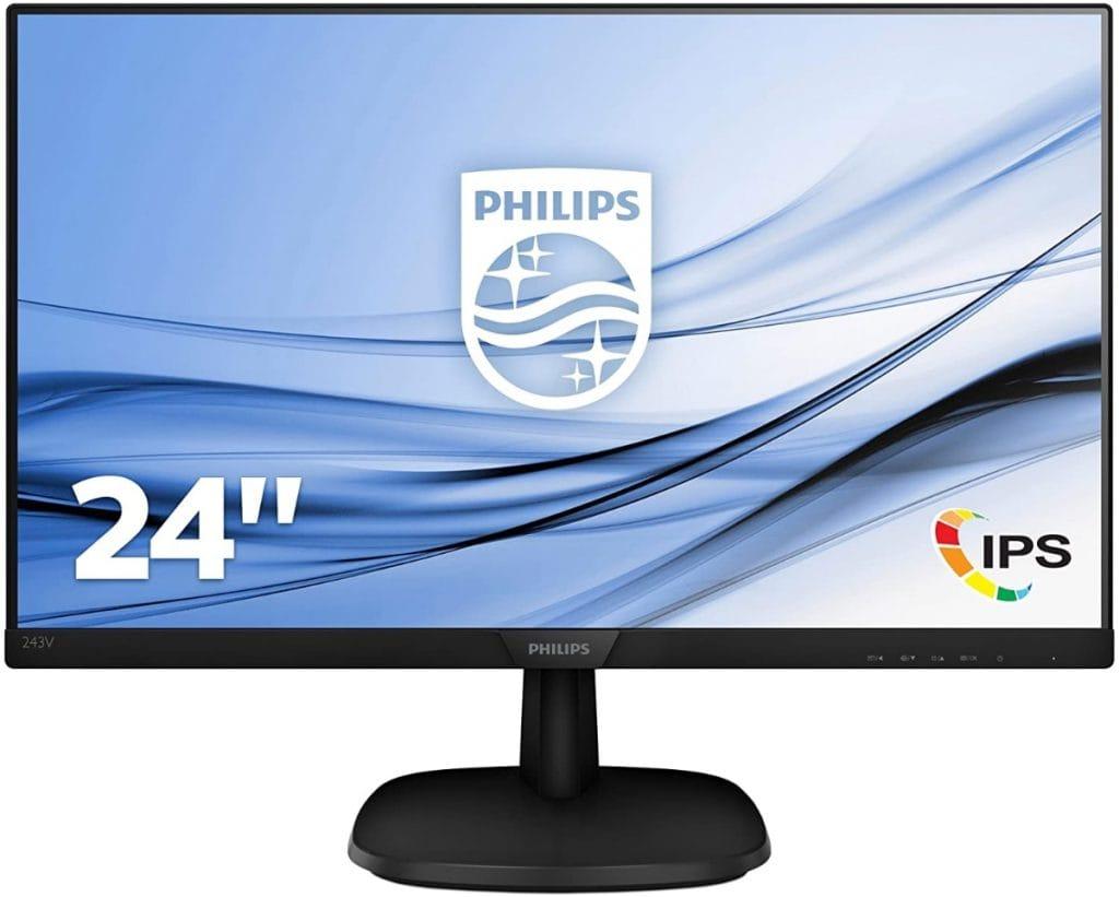 """Philips 243V7QDSB/00 - Monitor IPS de 24"""" Full HD"""