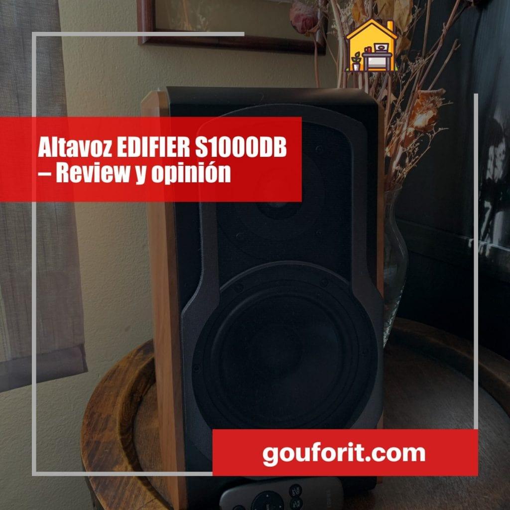 Altavoz EDIFIER S1000DB – Review y opinión