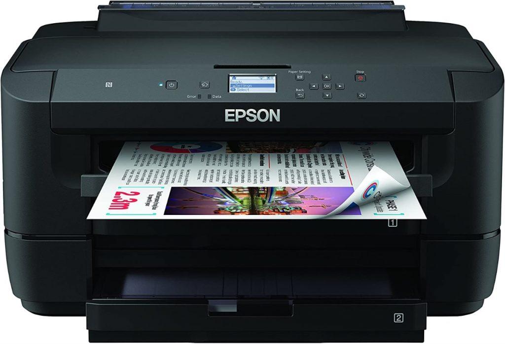 Epson WF-7210DTW WorkForce - Impresora A3 con dos Bandejas