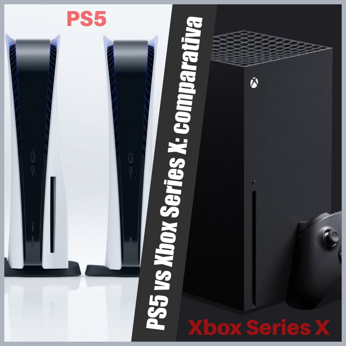 PS5 vs Xbox Series X: comparativa