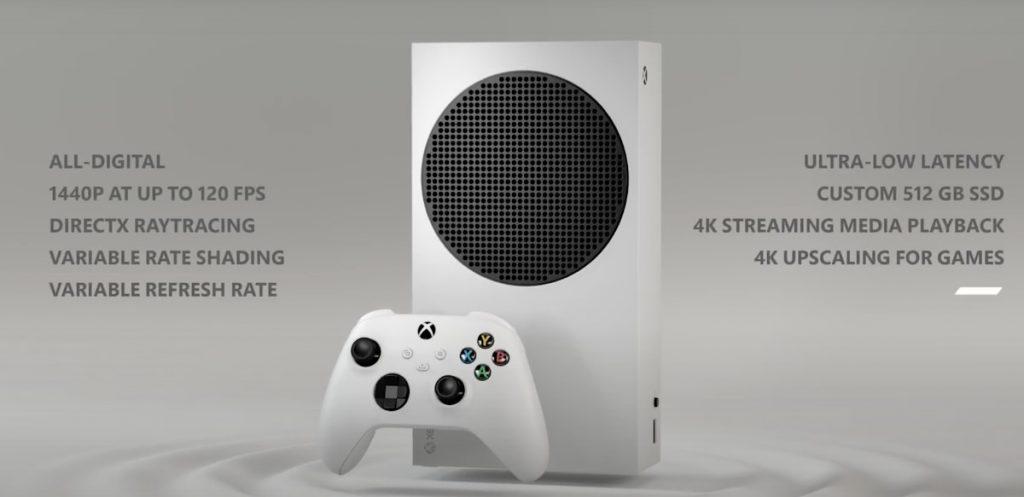 Xbox Series S: Hardware y especificaciones