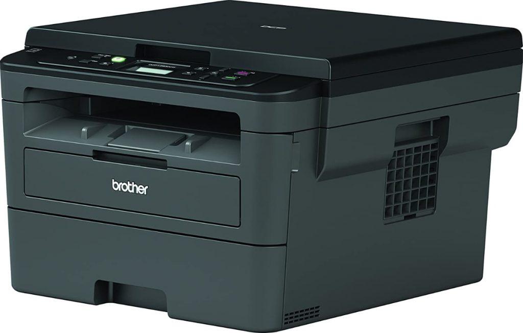 Brother DCPL2530DW - Impresora multifunción láser monocromo Wifi con impresión dúplex