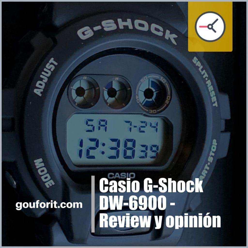 Casio G-Shock DW-6900 - Review y opinión