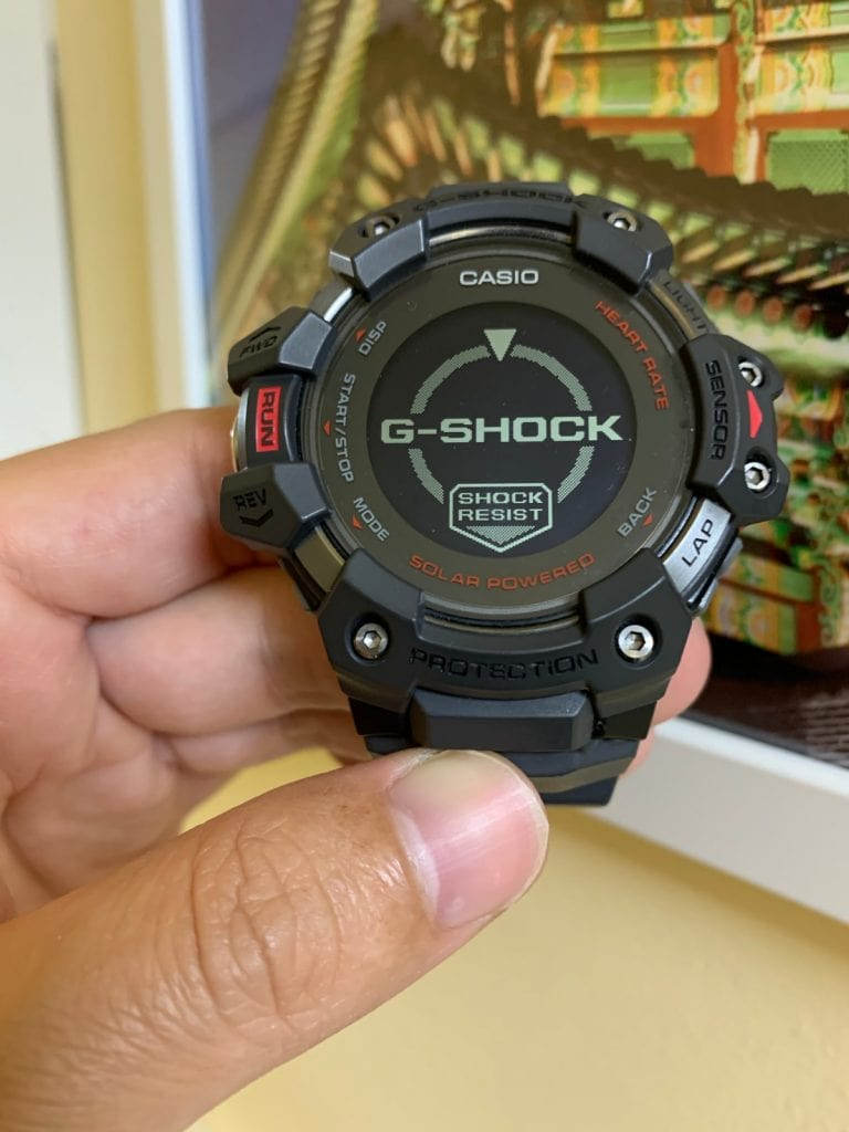 Casio G-Shock GBD-H1000: Actualizaciones de Firmware