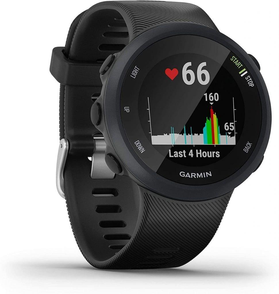El mejor reloj running para mujer - hombre: Garmin Forerunner 45