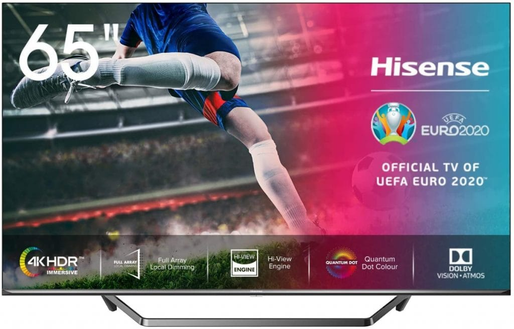 "Hisense ULED 2020 65U71QF - Smart TV 65"" Resolución 4K"