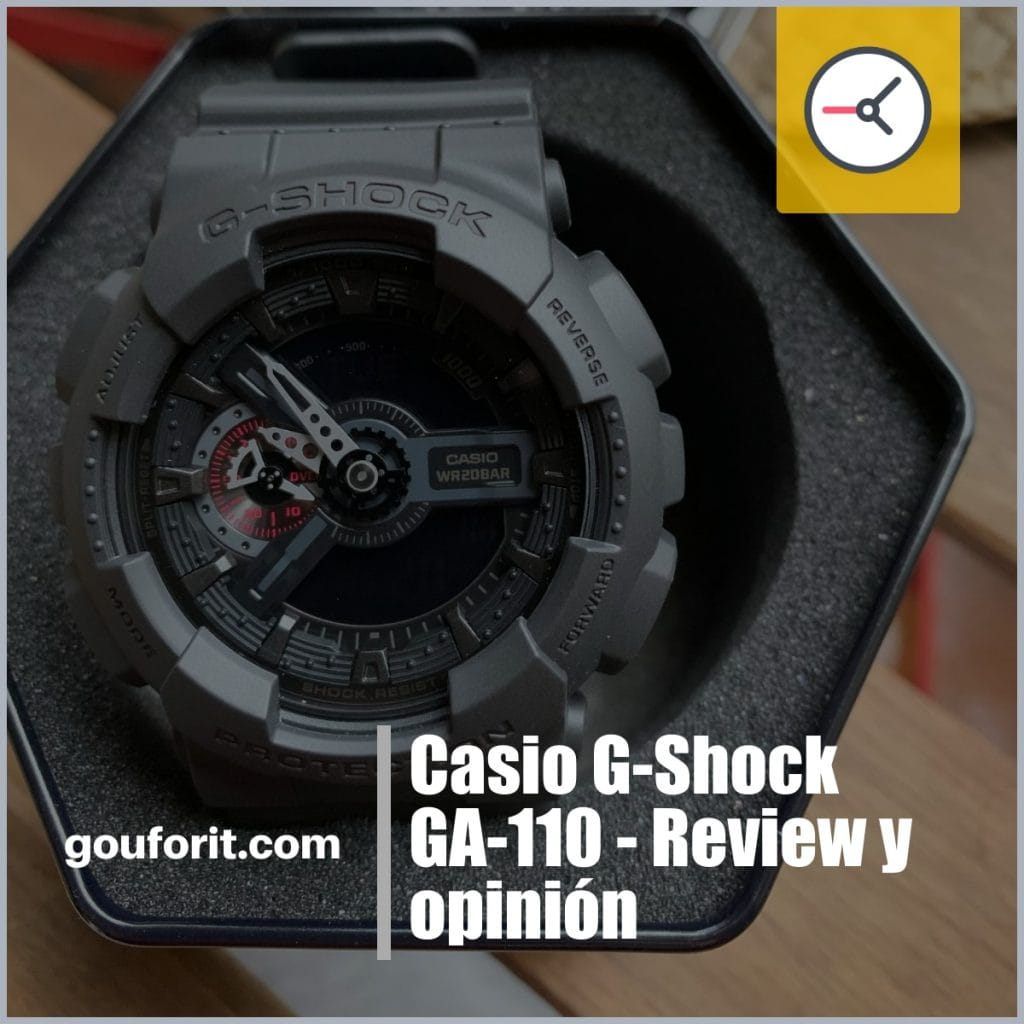 Casio G-Shock GA-110MB-1AER - Review y opinión