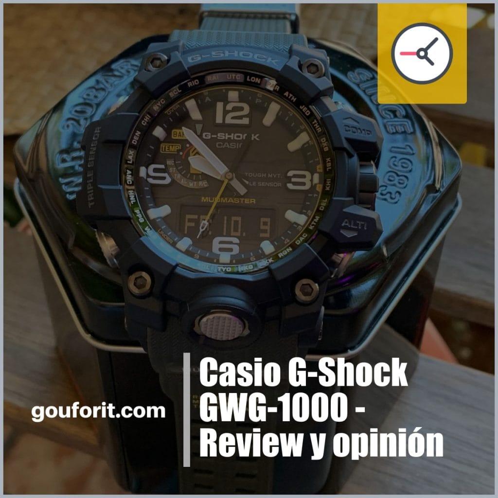 Casio G-Shock GWG-1000 - Review y opinión