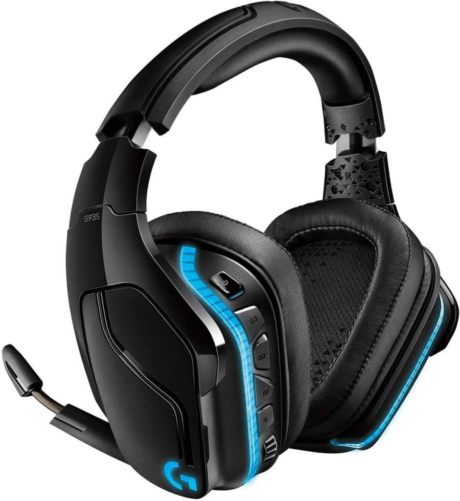 Logitech G935 Auriculares Gaming RGB Inalámbrico, Sonido 7.1 Surround