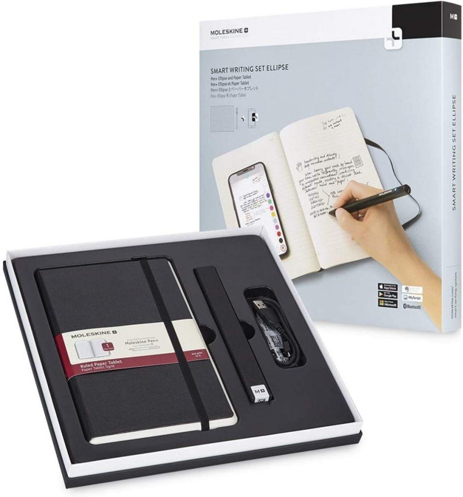 Moleskine - Set de Escritura Inteligente, Cuaderno Digital y Bolígrafo