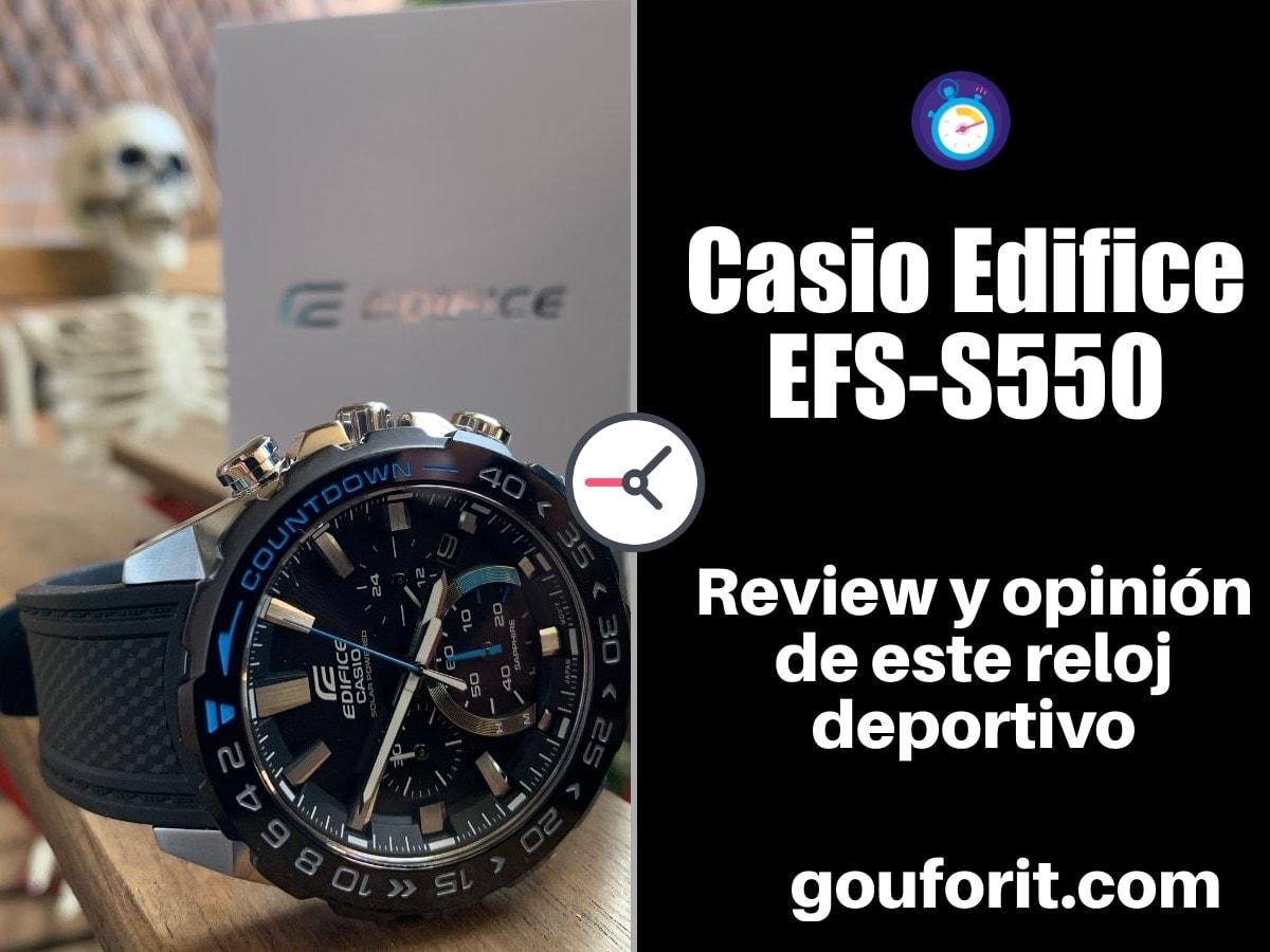 Casio Edifice EFS-S550 - Review y opinión