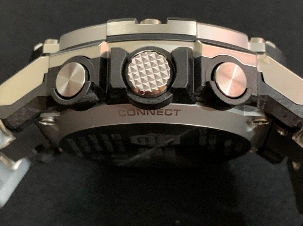 Casio G-Shock GST-B300: botones