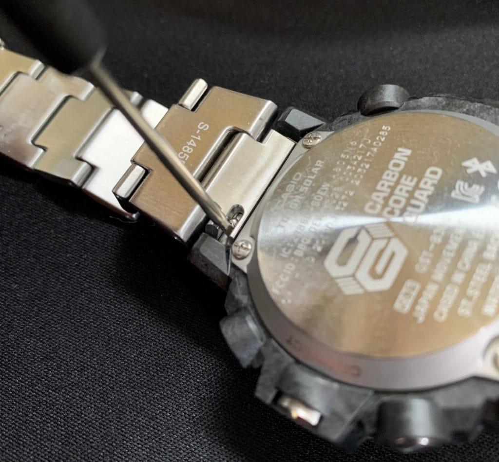 Casio G-Shock GST-B300: quitar correa