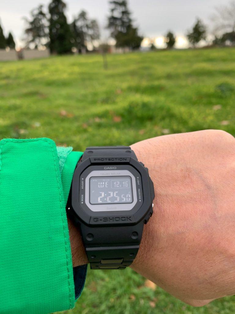 Casio G-Shock GW-B5600: funcionalidades