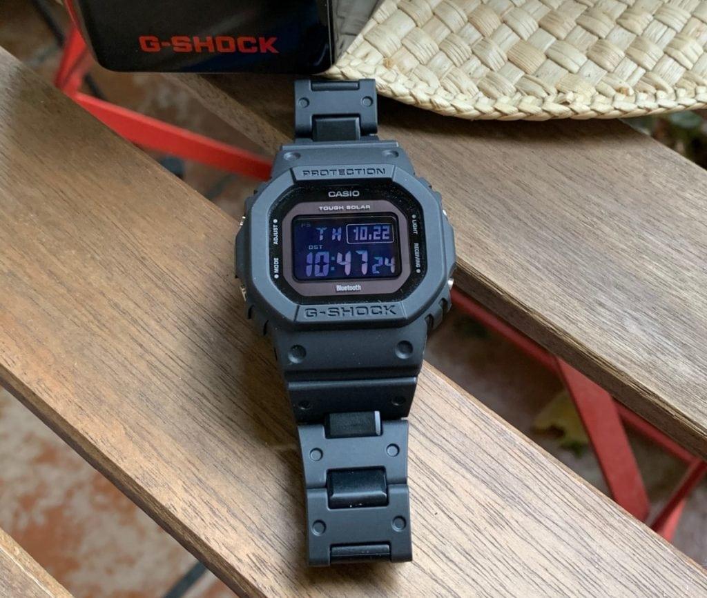 Casio G-Shock GW-B5600BC-1BER: pantalla