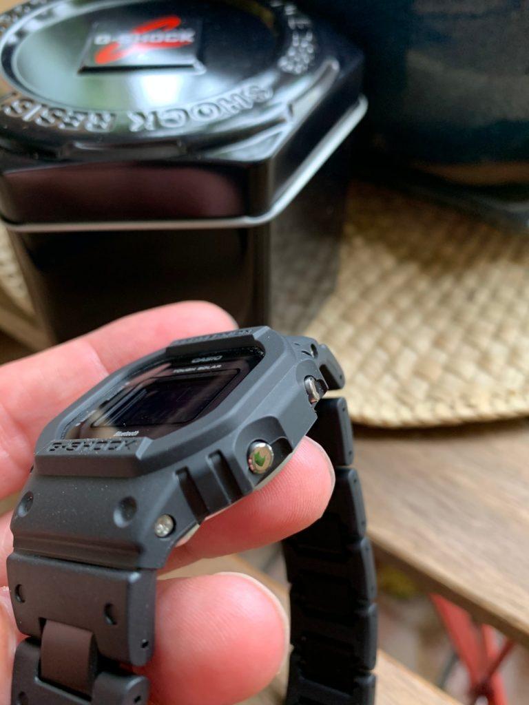 Casio G-Shock GW-B5600BC-1BER: botones