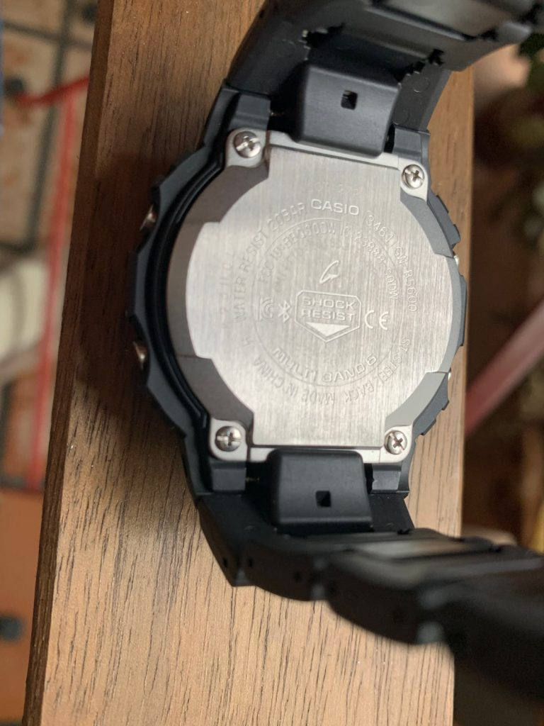 Casio G-Shock GW-B5600BC-1BER: parte trasera