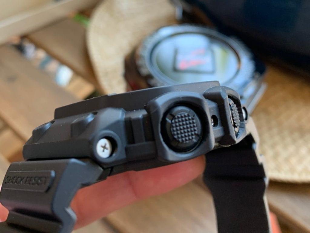 Casio G-SHOCK GX-56: botones