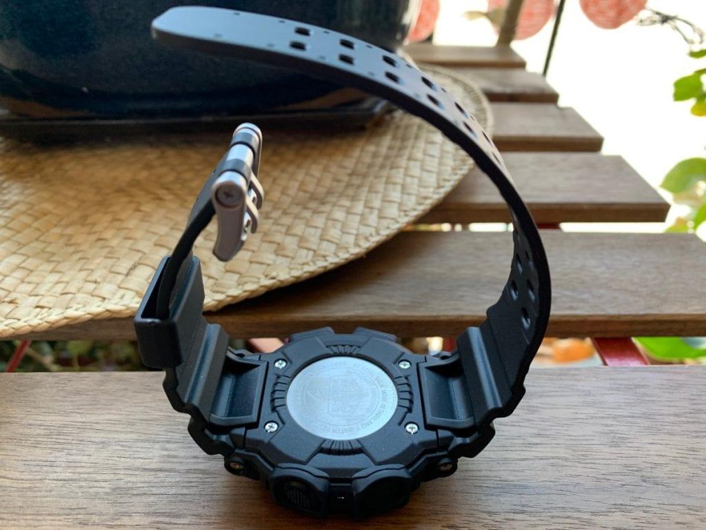 Casio G-SHOCK GX-56: parte trasera