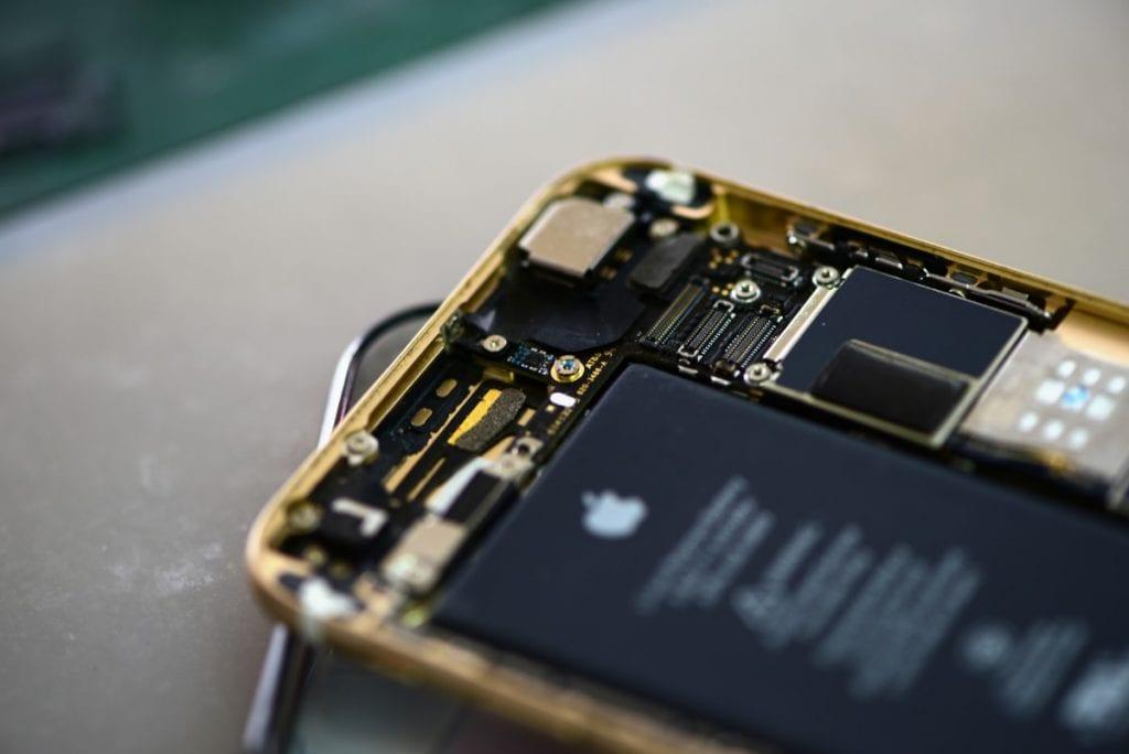 iPhone por dentro