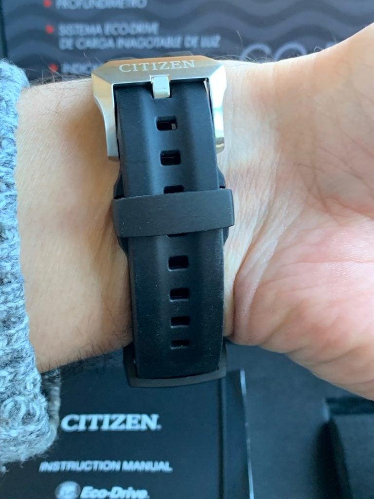 Citizen Aqualand Eco Drive Promaster BN2024-05E: correa de caucho