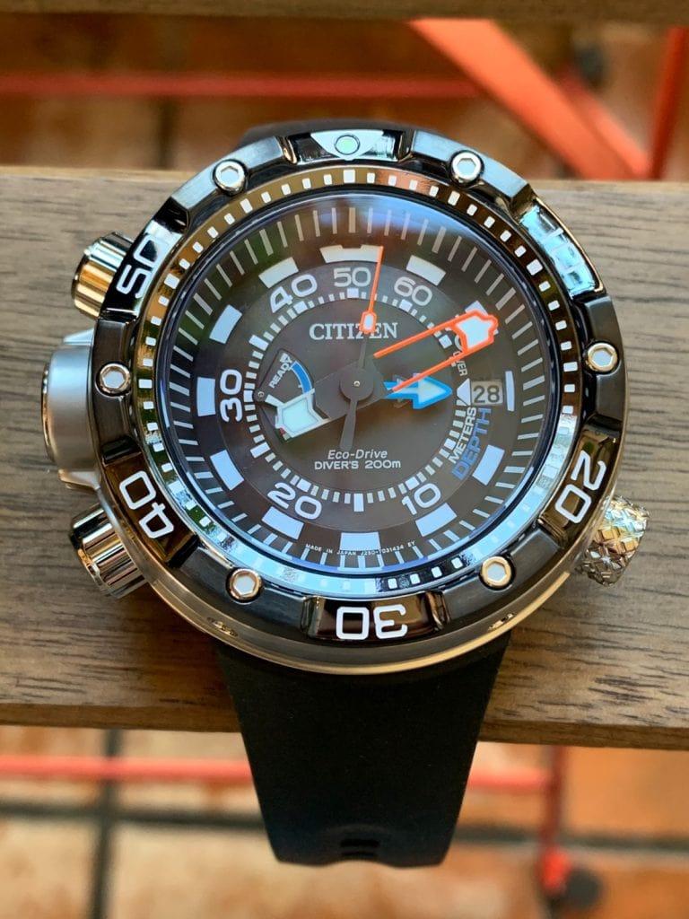 Citizen Aqualand Eco Drive Promaster BN2024-05E: funciones y características para buceo