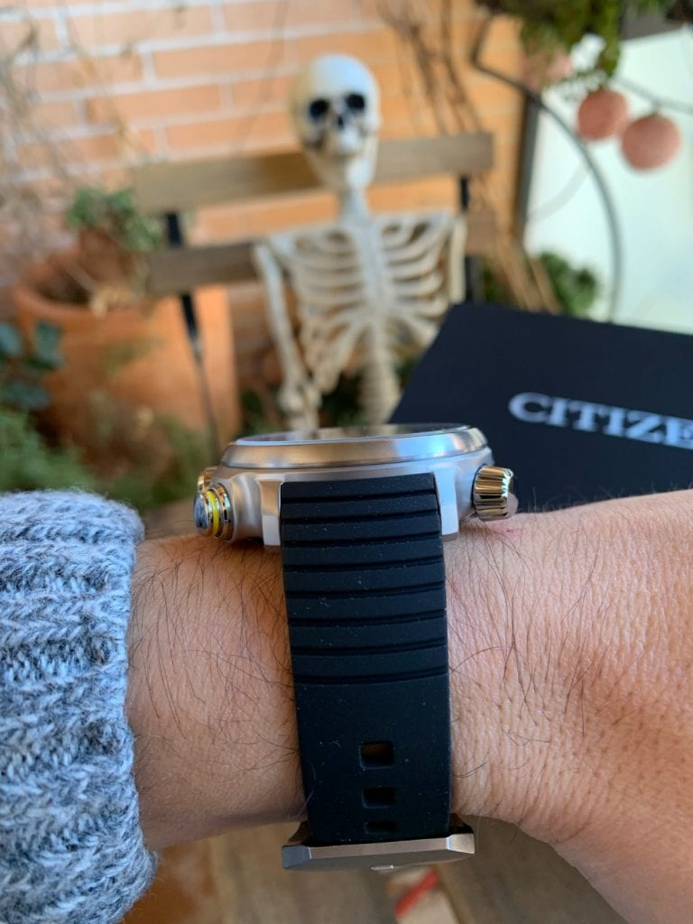 Citizen Eco Drive BN4021-02E Altichron: cómo queda en la muñeca
