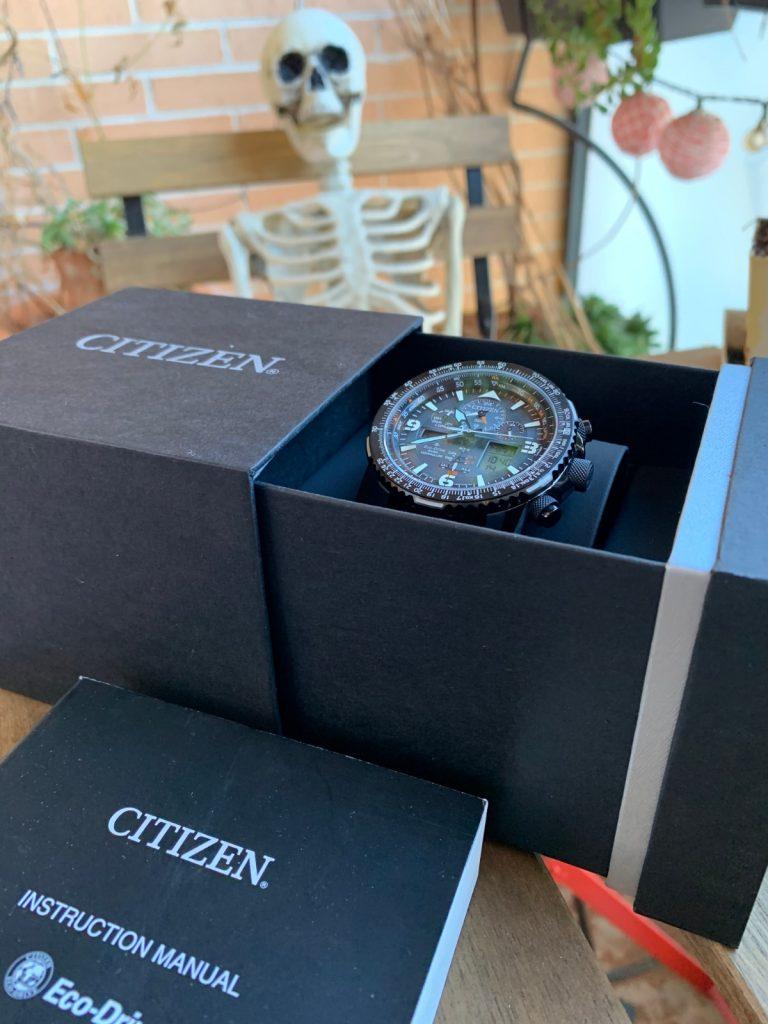 Reloj Citizen Eco Drive JY8085-14H Super Pilot con radiocontrol