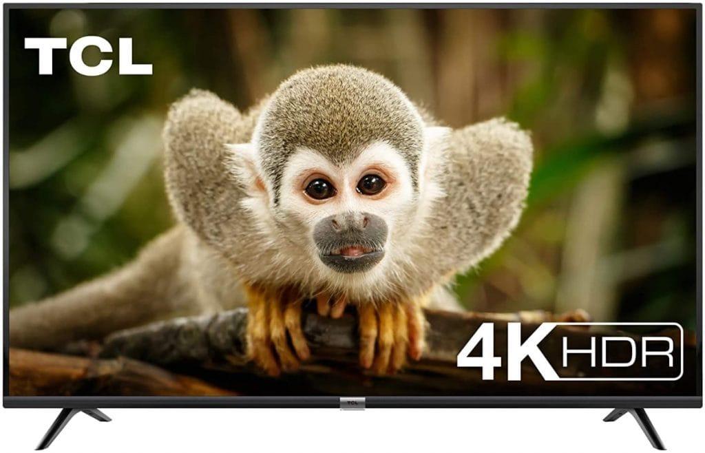 TCL 50DP602 Televisor de 50 pulgadas, Smart TV con UHD 4K