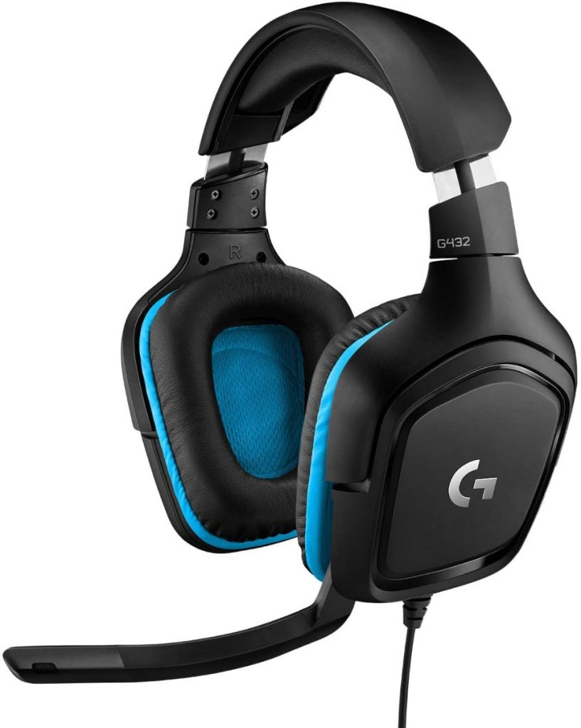 Logitech G432 Auriculares Gaming con Cable