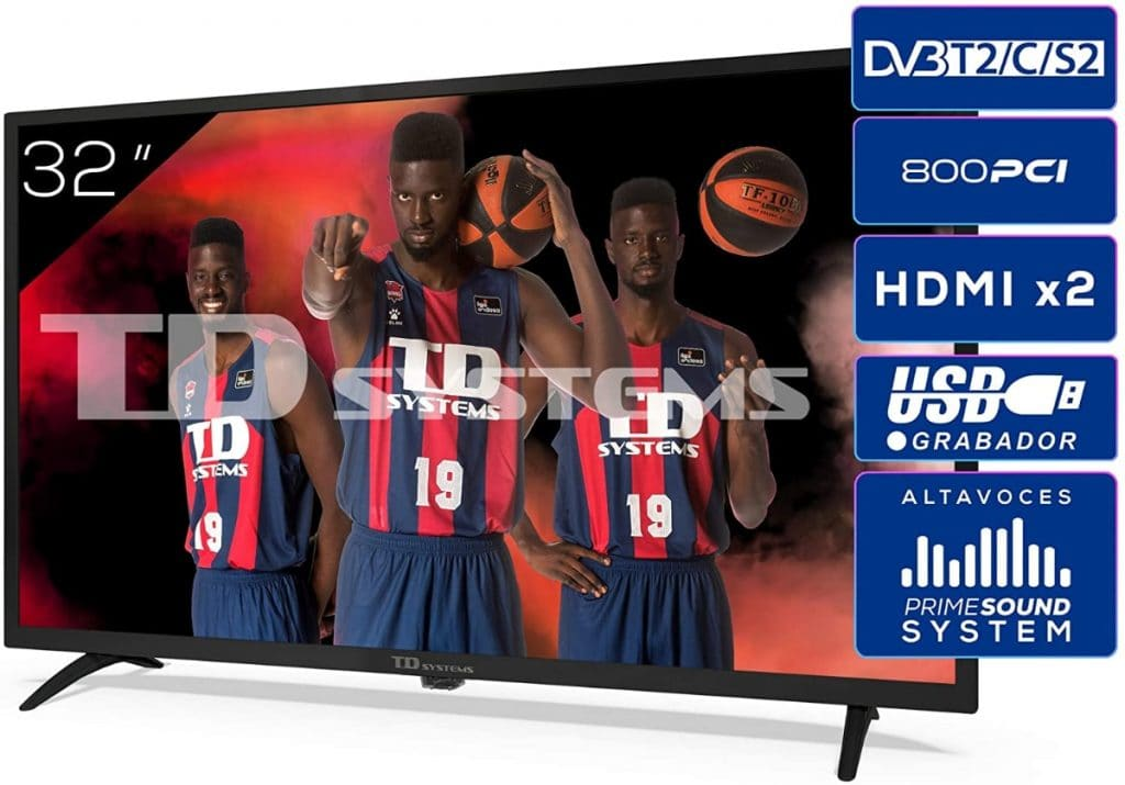 TD Systems K32DLK12H - Televisor de 32 Pulgadas HD