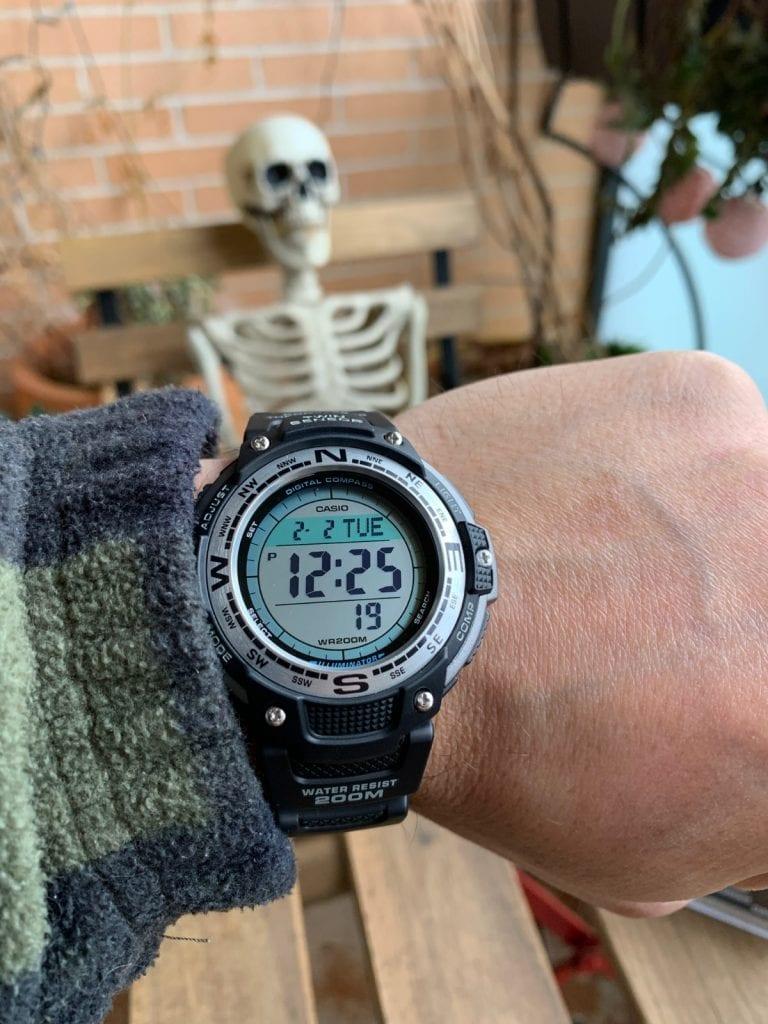Casio SGW-100: el reloj con sensores que estabas buscando por calidad precio