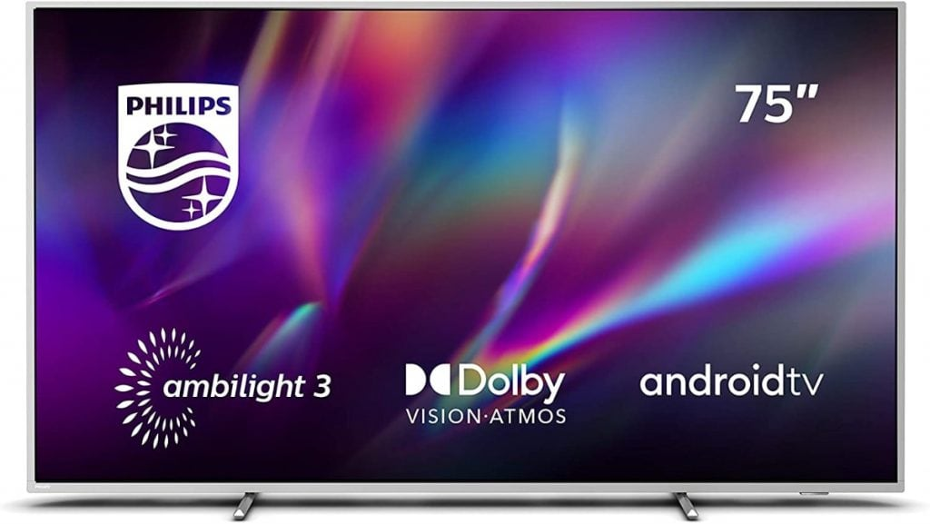 "Philips Ambilight 75PUS8505/12 - Televisor Smart TV de 75"""