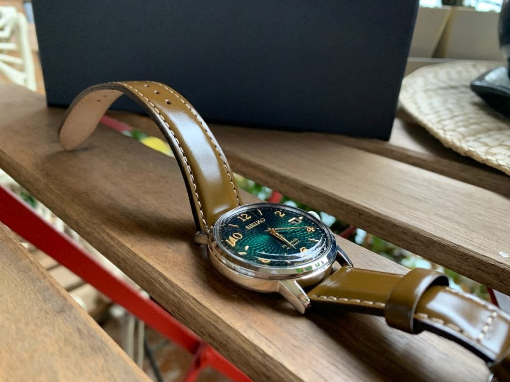 "Seiko Presage Cocktail Time ""The Mojito"" SRPE45J1"
