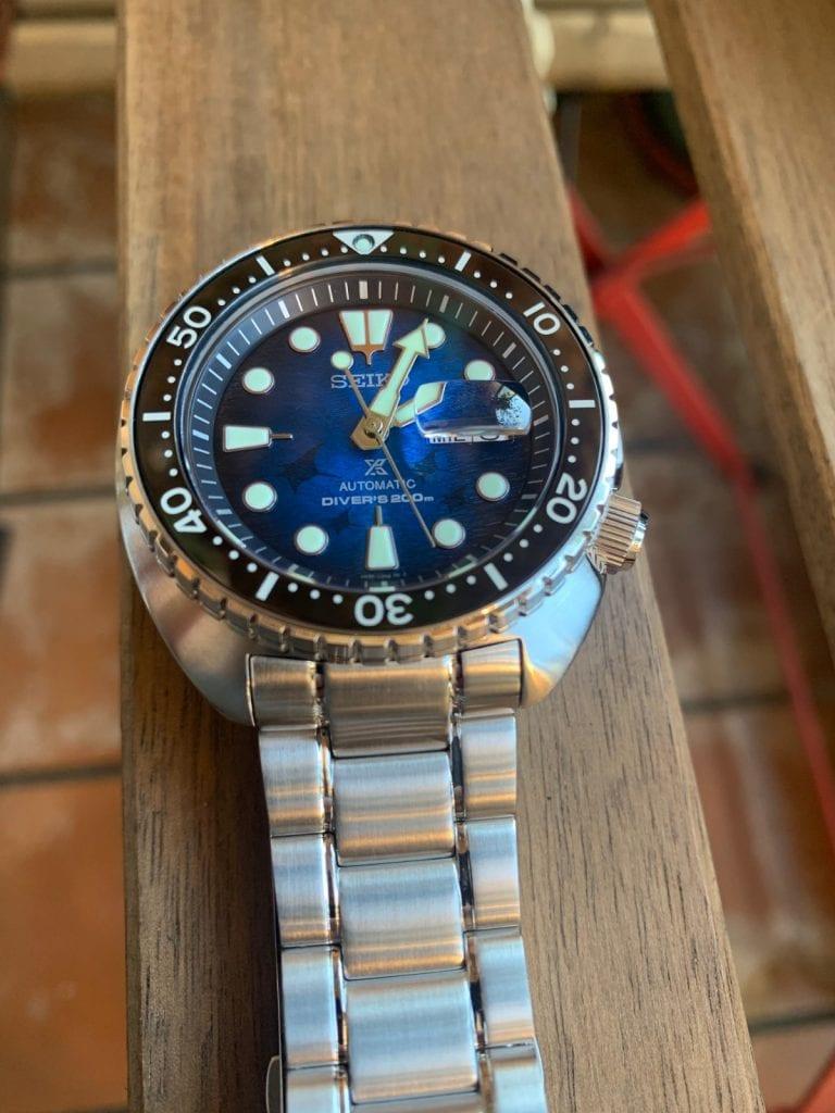 "Seiko Prospex Diver SRPE39K1 ""KING TURTLE MANTA RAYA"""