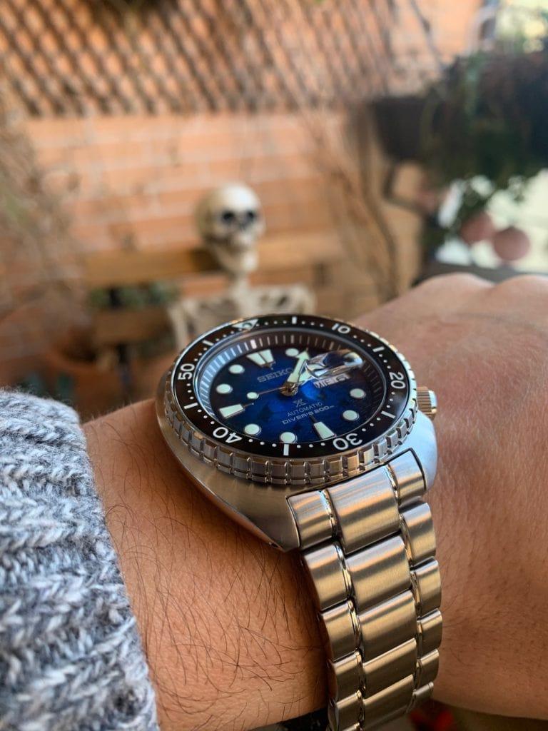 "Seiko Prospex Diver 200 m SRPE39K1 ""KING TURTLE MANTA RAYA"": el reloj de buceo perfecto"