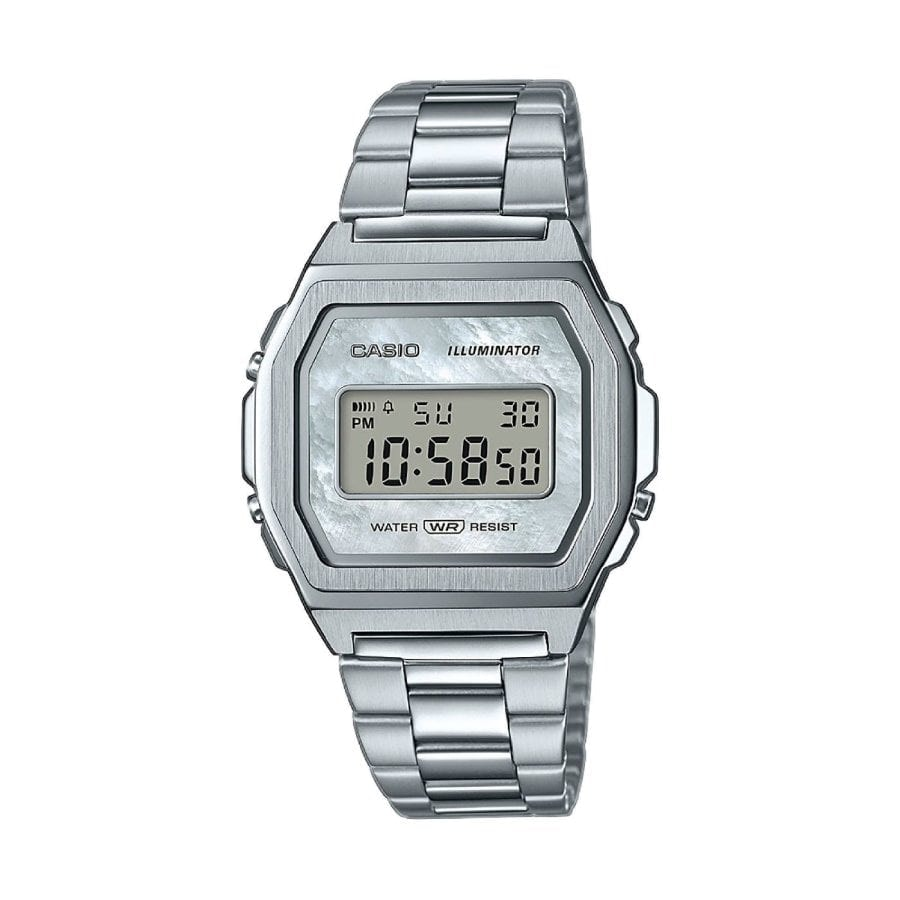 Casio A1000D: el reloj Casio vintage completamente de acero