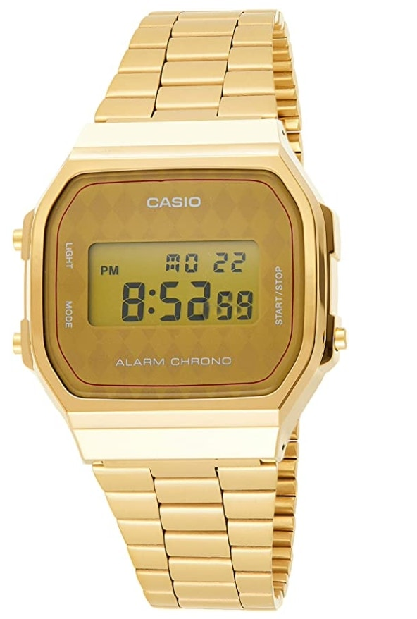Casio A168WG - Casio dorado