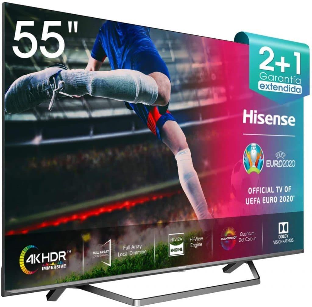 "Hisense ULED 2020 55U71QF - Smart TV 55"" Resolución 4K"