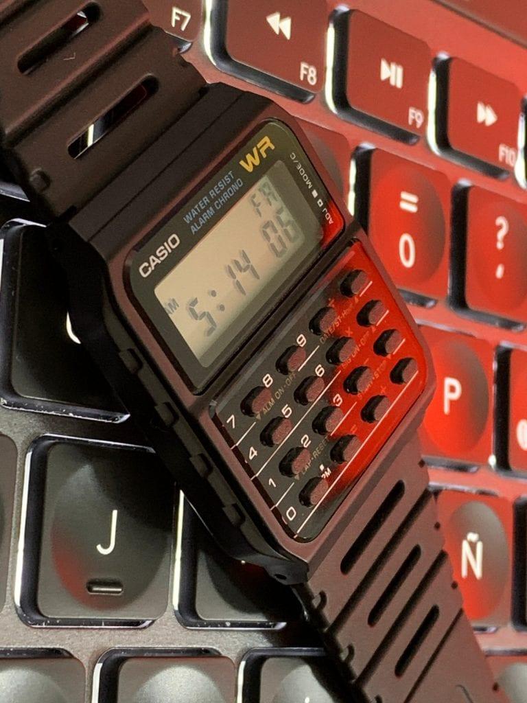 Casio CA-53W - El reloj calculadora