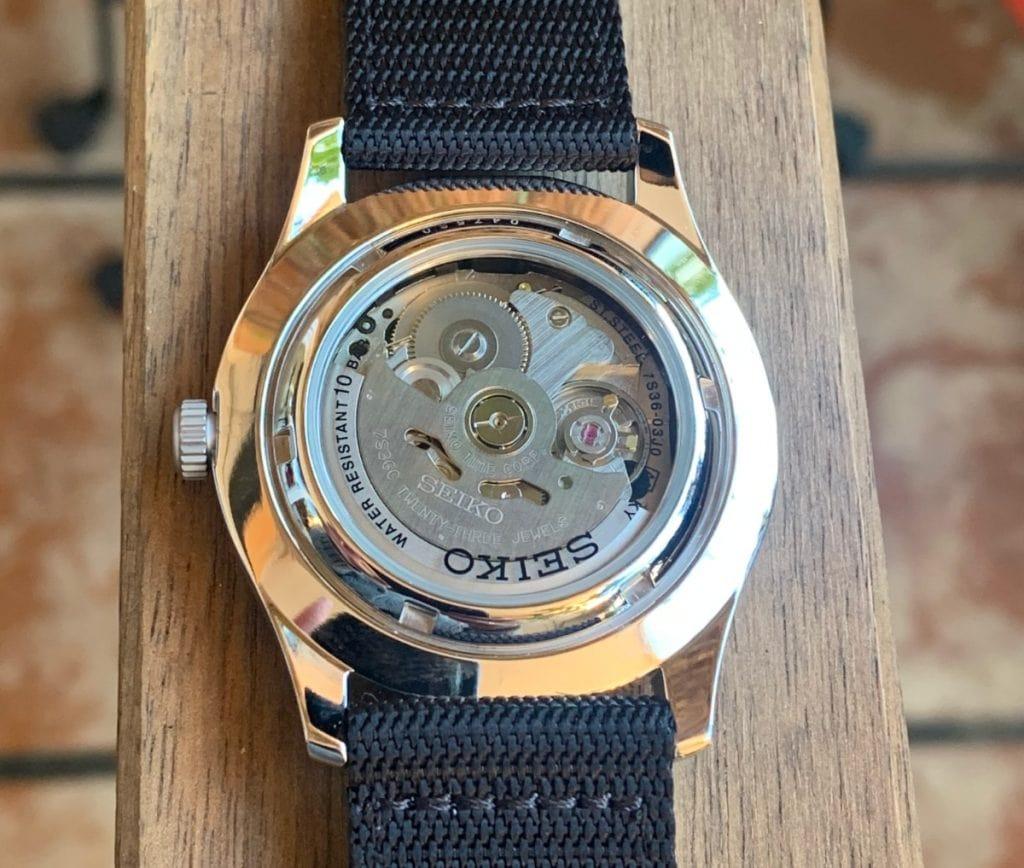 seiko SNZG15 reloj automatico calibre