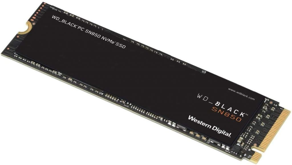 WD BLACK SSD SN850 de 500 GB SSD