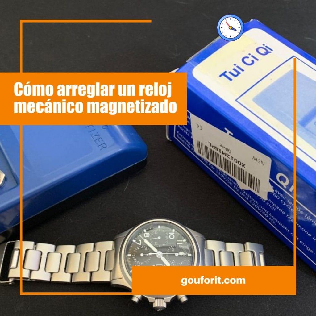 Cómo arreglar un reloj mecánico magnetizado