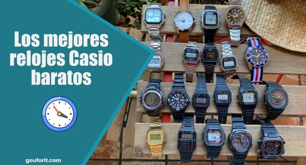 Los mejores relojes Casio baratos para hombre y mujer