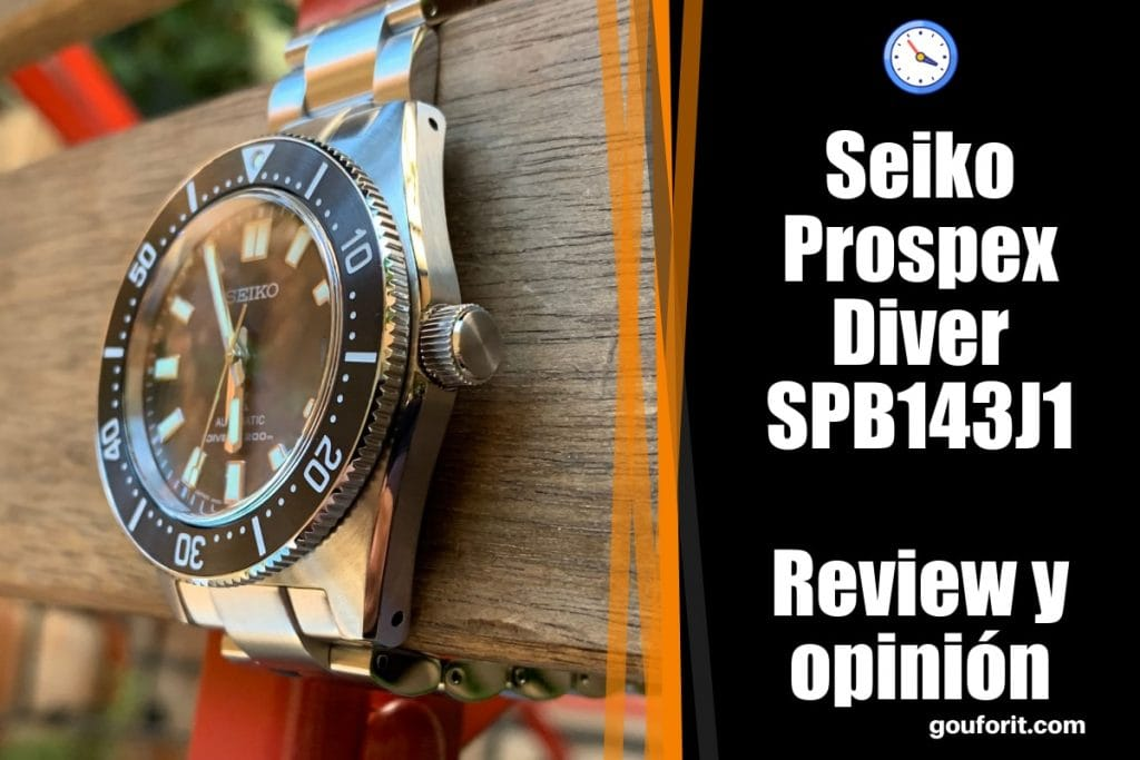 Seiko Prospex Diver SPB143J1 - Review y opinión de este reloj automático de buceo