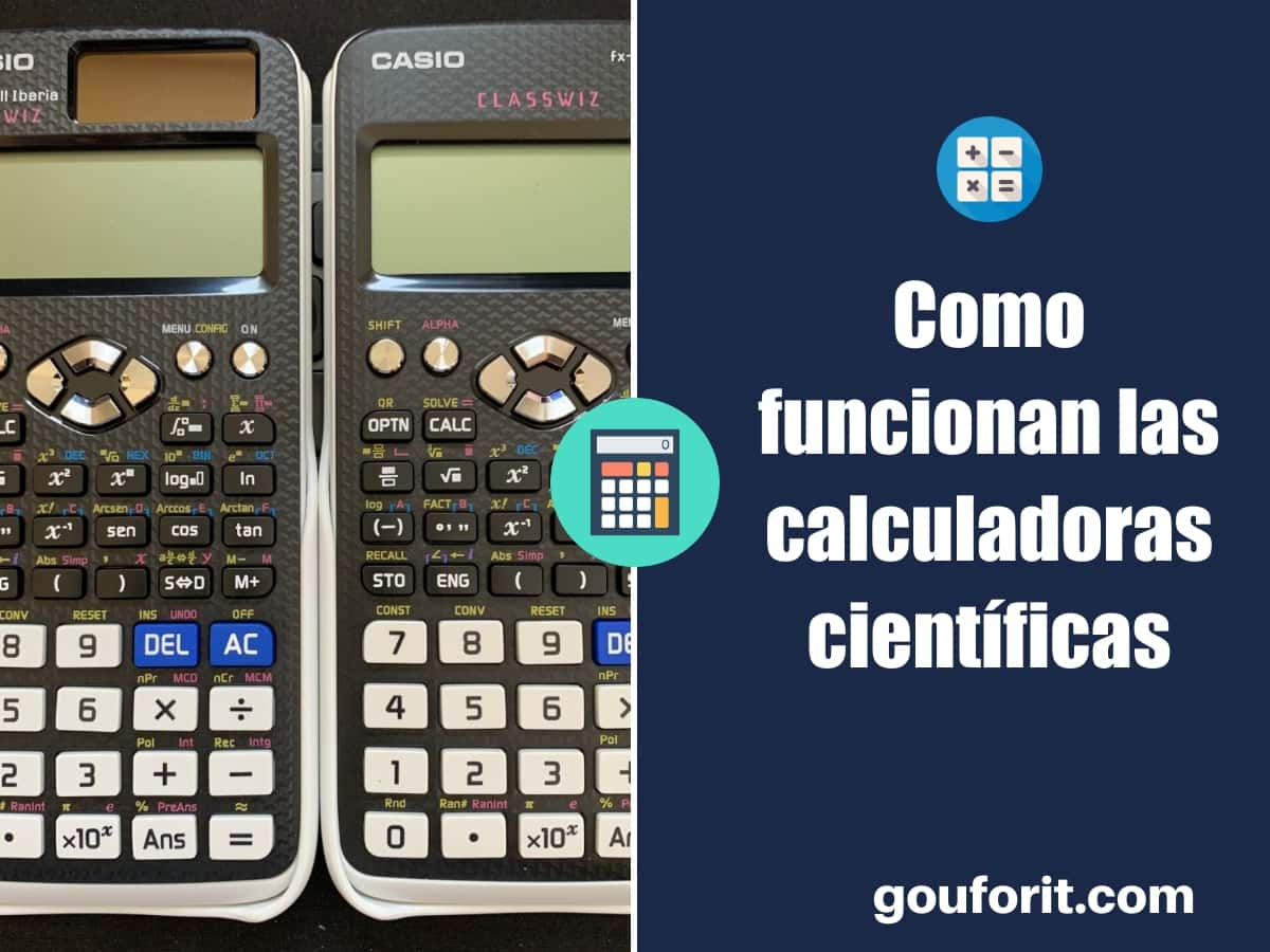 Como usar una calculadora científica: guía de funcionamiento