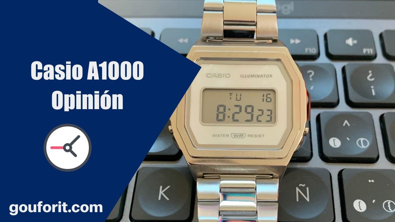 Casio A1000 - El reloj Casio Vintage de acero - Opinión